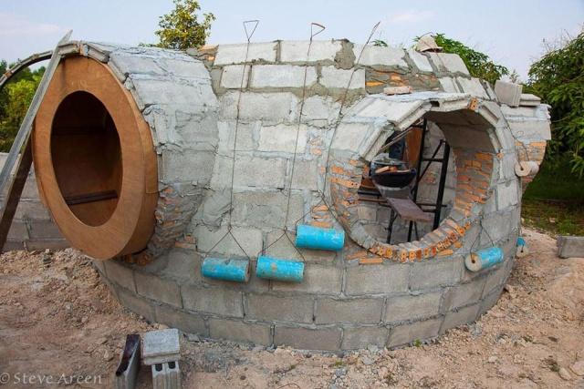 約100万円で作った手作りの家の画像(3枚目)