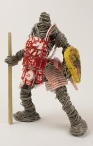 カップ麺をモデルにした戦士達のフィギュア02