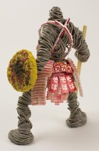 カップ麺をモデルにした戦士達のフィギュア03