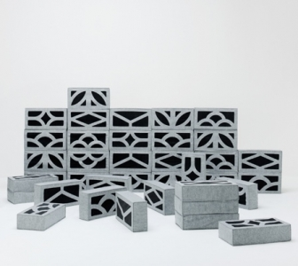 柔らか過ぎるコンクリートブロックのソファー03