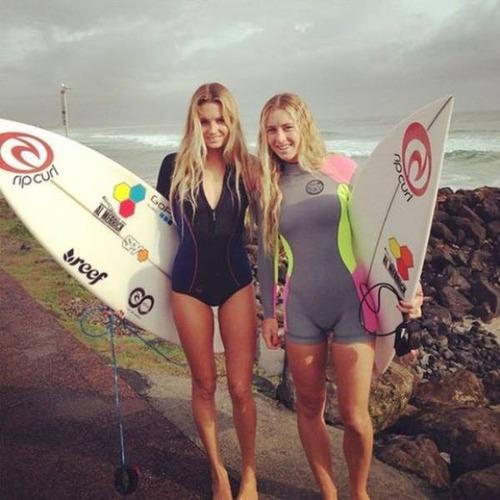 可愛くて魅力的なサーフィンしている女の子の画像の数々!!の画像(32枚目)