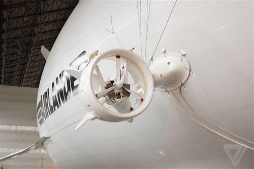 世界最大の飛行船「Airlander10」の画像(7枚目)