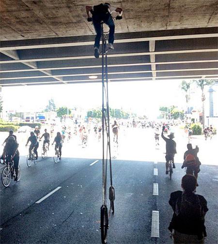 高すぎる自転車の画像(6枚目)