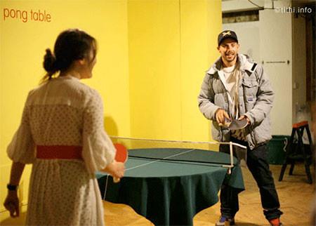 どこでも卓球台!!にできるテーブルクロスが魅力的wwwの画像(5枚目)