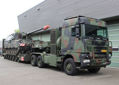戦車が運べる超大型キャリアカーの画像(9枚目)