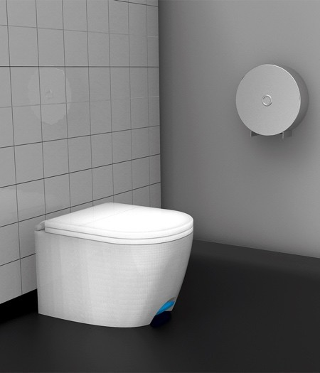 足で踏んで開け閉めできる!トイレのフタ04