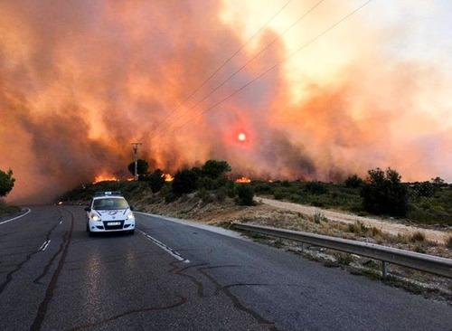 フランスのマルセイユの山火事の画像(20枚目)