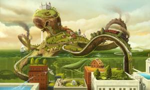 幻想的でドキドキする超巨大生物の壁紙!の画像(26枚目)