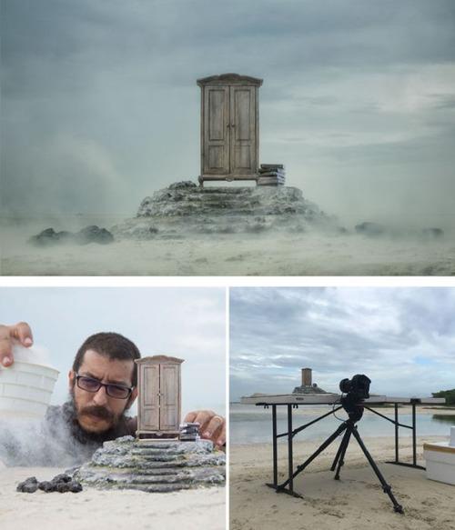 芸術的な写真と撮影風景のギャップの画像(19枚目)