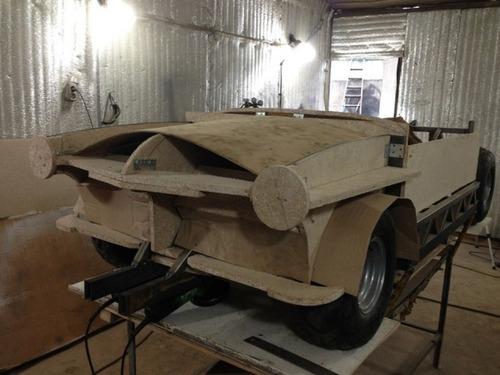 【画像】職人が本気で作った子供用の自動車が凄いwwwの画像(5枚目)