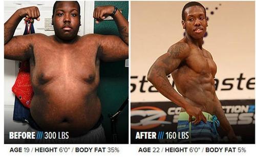 やればデキル!ダイエット肉体改造のビフォーアフターの画像の数々!!の画像(17枚目)