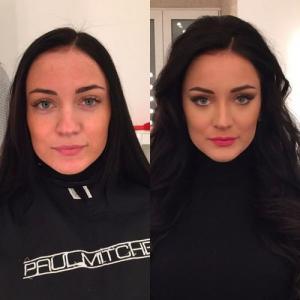 女性の化粧前、化粧後の画像の数々_13