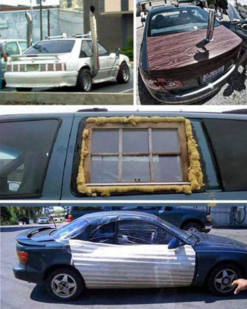 【画像】修理方法が驚異的に雑すぎて、凄いことになってる自動車の数々!!の画像(31枚目)