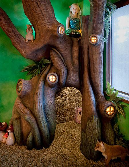 家の中に樹木の洞穴「樹洞」ができる!子供達も大喜び!!の画像(5枚目)