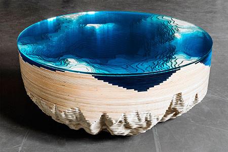 深海の地形がテーブルの画像(10枚目)