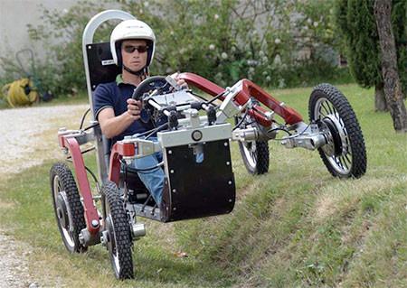 走破性抜群!完全に四輪が独立したカートのような四輪車が凄い!!の画像(9枚目)