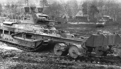 撤去は大変…昔の地雷処理戦車の画像の数々!!の画像(5枚目)