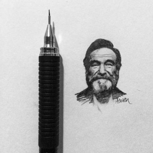 鉛筆やシャーペンで描いた小さいけど凄いクオリティの画像の数々!!の画像(1枚目)