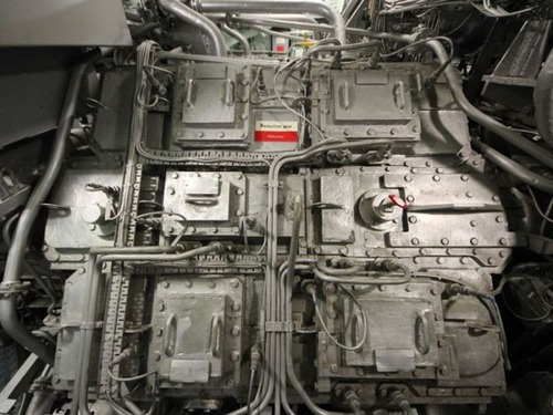 原子力潜水艦の内部の画像(6枚目)