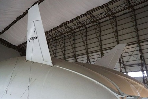 世界最大の飛行船「Airlander10」の画像(19枚目)