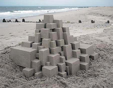 砂で作られた近代的なお城のアートの画像の数々!!の画像(16枚目)