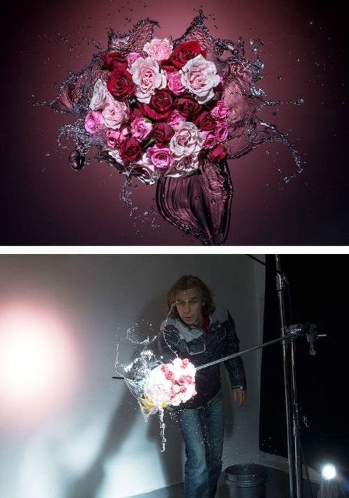 芸術的な写真と撮影風景のギャップの画像(18枚目)