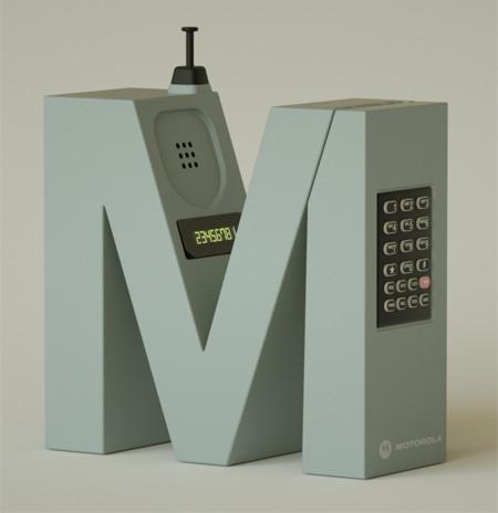 アルファベット型のメーカーのガジェット14