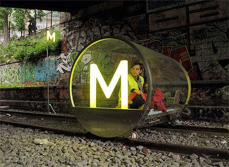 一人乗りの電車の画像(2枚目)