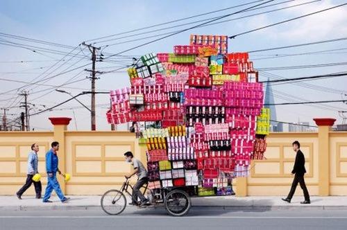 運搬している自動車の画像(7枚目)