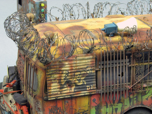 【画像】単なるバスのプラモでも超本気で作ると凄いことになるwwwの画像(45枚目)