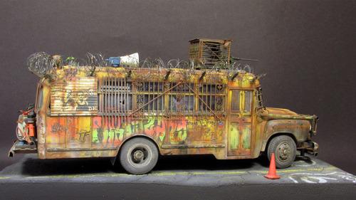 【画像】単なるバスのプラモでも超本気で作ると凄いことになるwwwの画像(47枚目)
