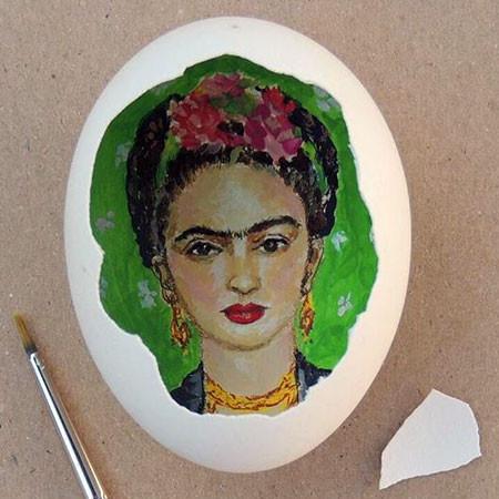卵の中が別世界!卵の内側に絵を描くアートが面白い!!の画像(8枚目)