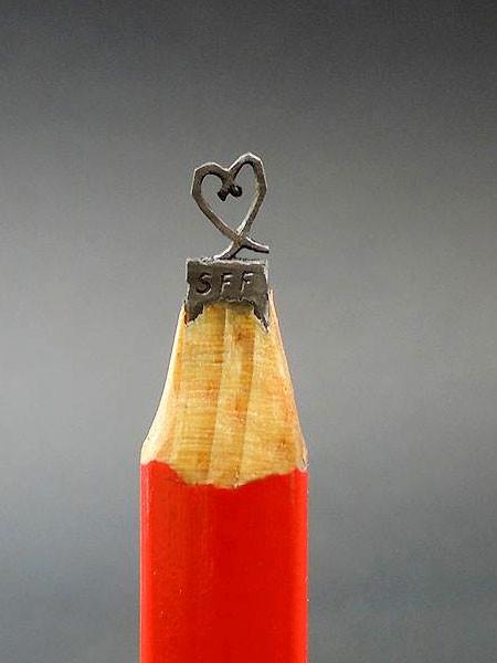 新作!?鉛筆の芯で作る彫刻が凄いwwwの画像(3枚目)