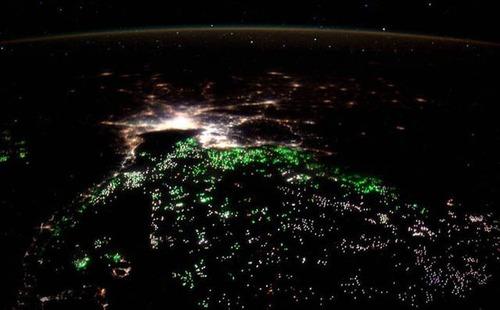 宇宙飛行士しか見ることが出来ない地球の絶景の画像の数々!!の画像(18枚目)