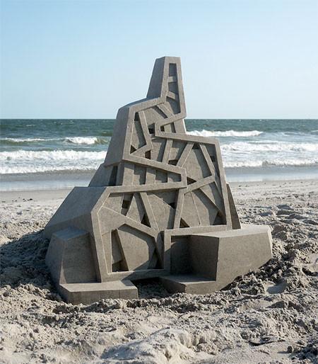 砂で作られた近代的なお城のアートの画像の数々!!の画像(9枚目)