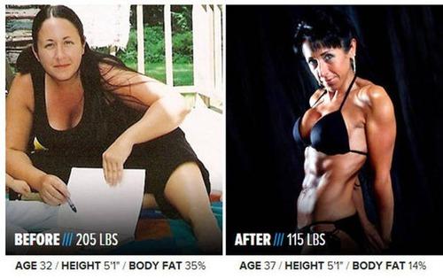 やればデキル!ダイエット肉体改造のビフォーアフターの画像の数々!!の画像(20枚目)