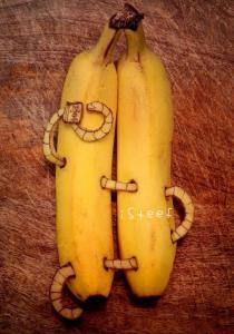 【画像】バナナに絵を描くアートがさらに進化しているwwの画像(18枚目)