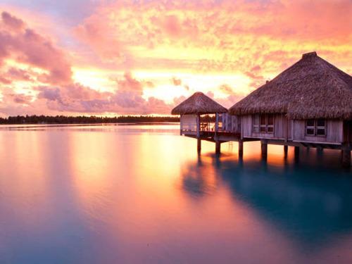 【画像】地上最後の楽園と呼ばれている「ボラボラ島」の絶景!の画像(21枚目)