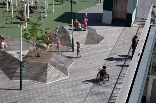 【画像】コペンハーゲンの小学校が子供の秘密基地のよう!!の画像(3枚目)