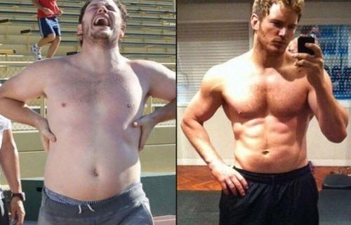 ハリウッドスターの肉体改造の前後の比較写真!!の画像(6枚目)