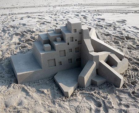 砂で作られた近代的なお城のアートの画像の数々!!の画像(4枚目)