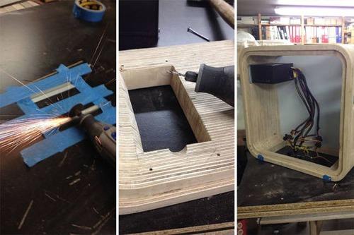 【画像】木製のパソコンケースを自作!カッコよくて落ち着いた木製パソコン!!の画像(6枚目)