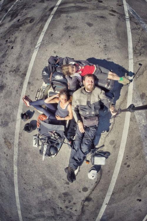 【画像】1台のバイクで家族3人が41カ国を4ヶ月で制覇!!の画像(37枚目)