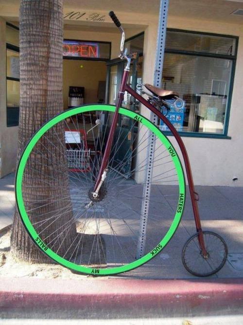 自転車にまつわるちょっと面白ネタ画像の数々!!の画像(50枚目)