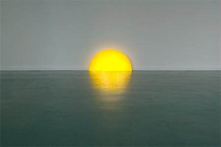 夕日に見える、サンセットランプ06