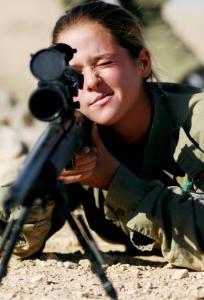 可愛いけどたくましい!イスラエルの女性兵士の画像の数々!!の画像(35枚目)