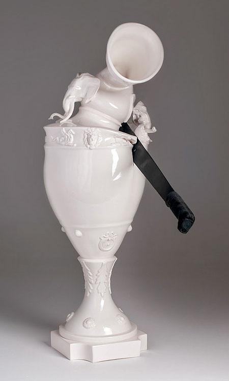 破壊された陶器の画像(4枚目)