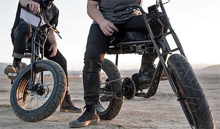 【画像】気分はアウトロー!バイクのように乗れる電動自転車!!の画像(15枚目)