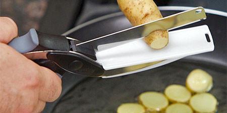 料理で使える活気的なハサミの画像(1枚目)