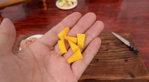 世界一小さい食べれるチーズフォンデュ3